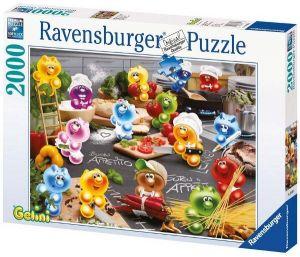 Puzzle Ravensburger - 2000 dílků Vaření   166084