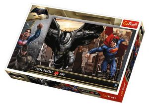 Puzzle Trefl 160 dílků - Batman vs Superman  -  15332