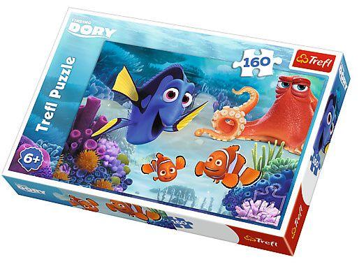 Puzzle Trefl 160 dílků - Hledá se Dory - 15333