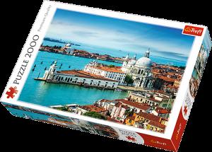 2000 dílků  Benátky Itálie   -  puzzle Trefl  27085