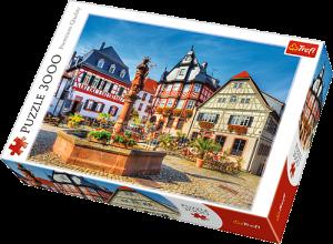 3000 dílků Náměstí v Heppenheimu - Německo  puzzle Trefl 33052