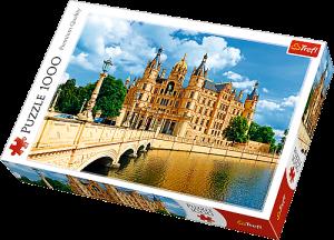 TREFL Puzzle 1000 dílků - Zámek Schwerin Německo 10430