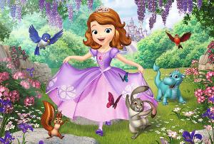Color puzzle 20 dílků - Sofie První 36515 Trefl