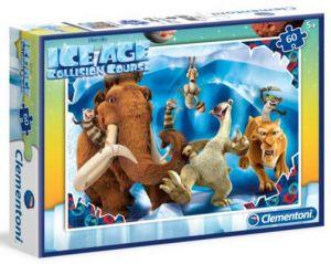 Dětské puzzle Clementoni  60 dílků  - Doba ledová   08426