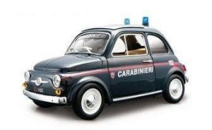 Fiat 500 Carabinieri -  auto 1:18 Bburago