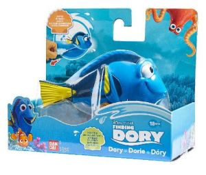 Hračka do vany - plovoucí  Dory   -  Hledá se Dory - Bandai