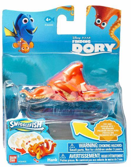 Jezdící figurka Hank - Hledá se Dory - Bandai