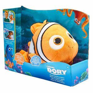 Plyšová hračka - plyšák Nemo 30 cm mluvící   -  Hledá se Dory - Bandai