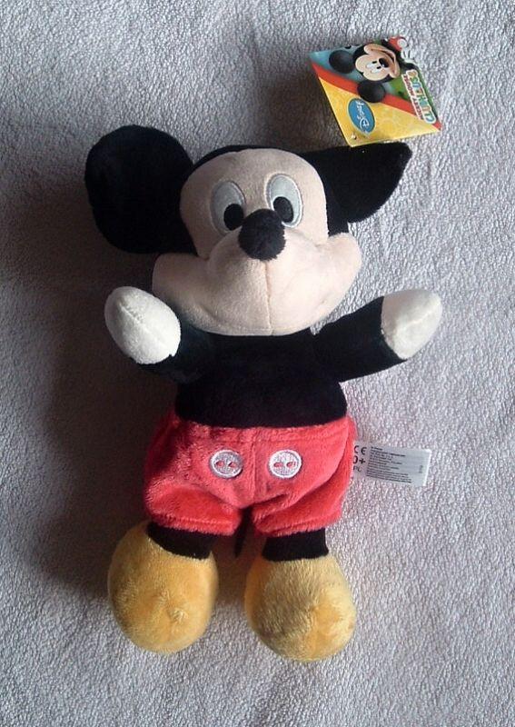 plyšový myšák Mickey Mouse 25 cm velký plyšák - Disney plyš FLOPSI