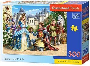 Puzzle Castorland 300 dílků - 030040 - Princezna a rytíř