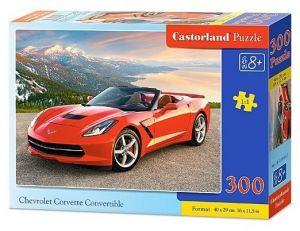 Puzzle Castorland 300 dílků - 030057 - Chevrolet Corvette Convertible