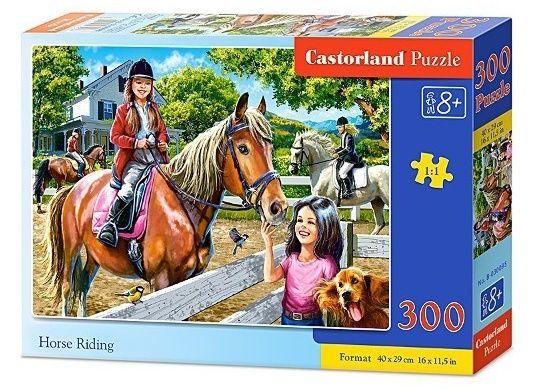 Puzzle Castorland 300 dílků - 030095 - Jízda na koni