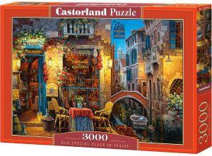 Puzzle Castorland 3000 dílků  - Vyjímečné místo v Benátkách  300426