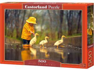 Puzzle Castorland 500 dílků   Dešťový den    52264