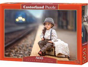 Puzzle Castorland 500 dílků Svět je velký 52295