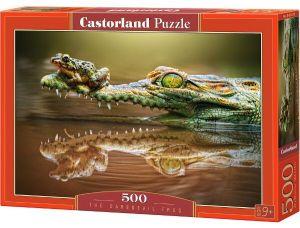Puzzle Castorland 500 dílků  Žába hazardérka   52318