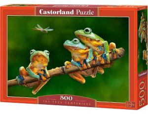 Puzzle Castorland 500 dílků Žáby 52301