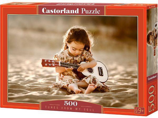 Puzzle Castorland 500 dílků Zvuky duše 52288