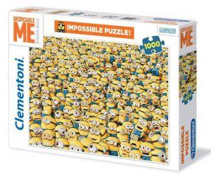 Puzzle Clementoni 1000 dílků - Nekoneční Mimoni   31450