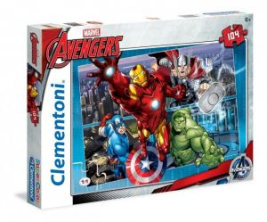 Puzzle Clementoni 104 dílků  -  Avengers  27932