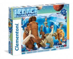 Puzzle Clementoni 60 dílků  -  Doba ledová  26956