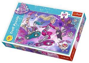 Puzzle Trefl 100 dílků - Barbie - Galaktické dobrodružství  16296