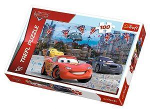 Puzzle Trefl 100 dílků - CARS 2 - Závody v Londýně 16295