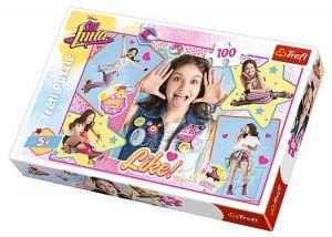 Puzzle Trefl 100 dílků - Soy Luna 16299