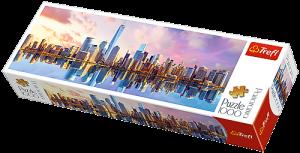 Puzzle TREFL  1000 dílků - panorama - Manhattan  29033