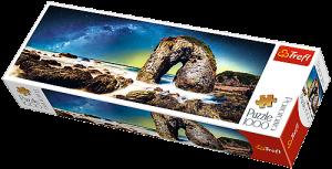 Puzzle TREFL  1000 dílků - panorama - Mléčná dráha  29032