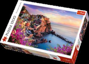 Puzzle Trefl 1500 dílků - Výhled na Manarolu -  Trefl 26137