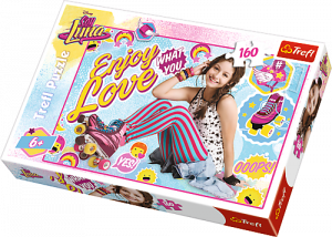 Puzzle Trefl 160 dílků - Soy Luna -  15329