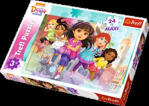 Puzzle Trefl 24 MAXI dílků  -  Dora a přátelé   14242