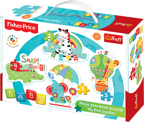 Puzzle Trefl Baby Rainbow Forest 36058