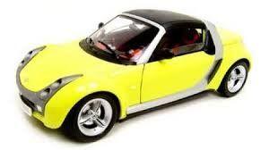 Smart Roadster auto 1:18 Bburago