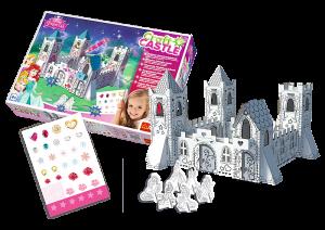 Trefl 3D puzzle - Craft Castle - Pohádkový zámek  princezen 20081