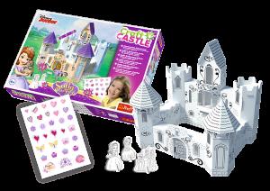 Trefl 3D puzzle - Craft Castle - Sofiin začarovaný zámek 20082