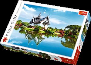 TREFL Puzzle 1000 dílků - Palác Sanphet Prasat Thajsko  10437
