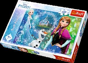 TREFL Puzzle  200 dílků  Frozen - Ledové  království  13207