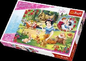 TREFL Puzzle  200 dílků - Sněhurka 13204