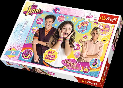 TREFL Puzzle 200 dílků - Soy Luna 13209