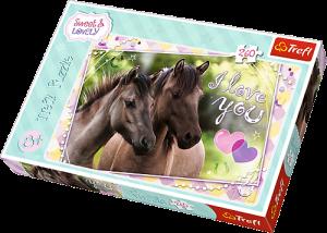 TREFL Puzzle  260 dílků - Milujeme koně   13213