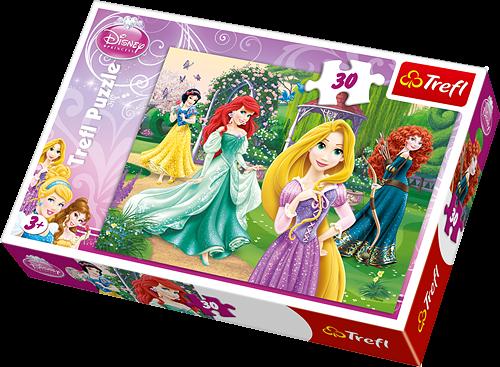 Trefl puzzle 30 dílků - Princezny - 18172