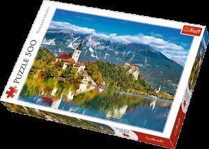 TREFL Puzzle  500 dílků -  Bled -  Slovinsko  37259