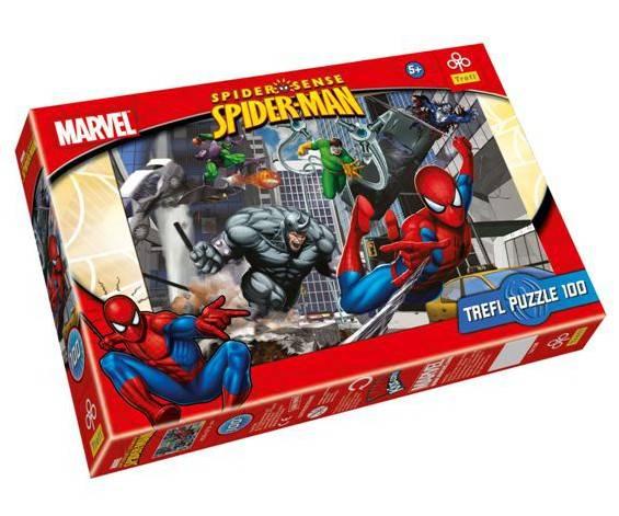 100 dílků - Spiderman - puzzle Trefl 16158