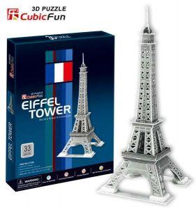3 D Puzzle CubicFun - Eifelova věž 33 d.