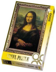 1000 dílků  Mona Lisa  - puzzle Trefl