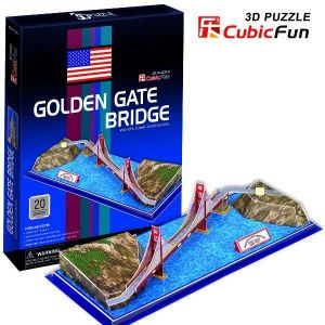 3 D Puzzle CubicFun - Golden Gate Bridge 20 d.
