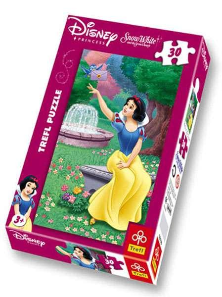 30 dílků - Sněhurka - puzzle Trefl 18116