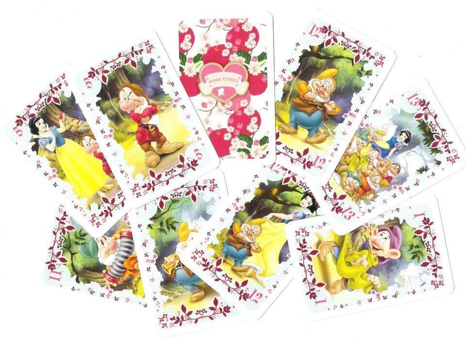 Sněhurka kartičky - karty Černý Petr - TREFL